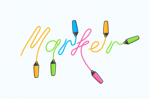 25个文字效果的Photoshop和Illustrator教程