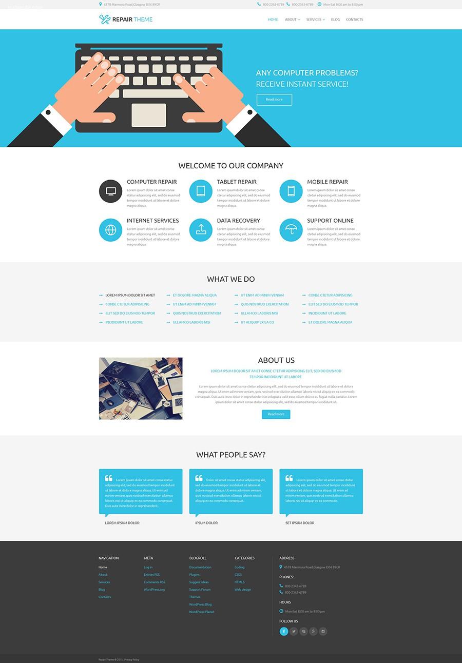 30个令人惊叹的免费及收费PSD网页设计模板