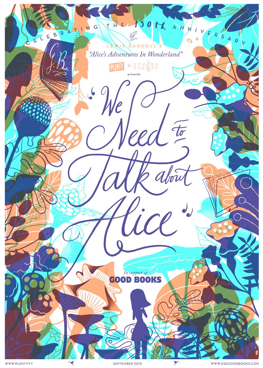动画作品《We need to talk about Alice》