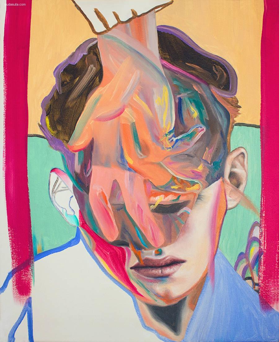 Andrea Castro 抽象人像插画欣赏