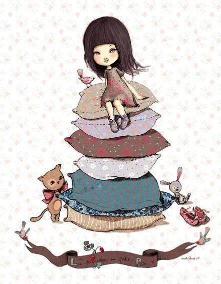 Anne Cresci 甜美可爱的儿童插画欣赏