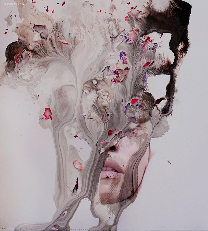 Clara Nebeling 美与丑 艺术插画欣赏