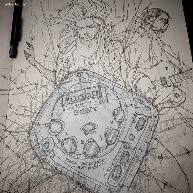 Dante Orpilla 水彩手绘插画欣赏