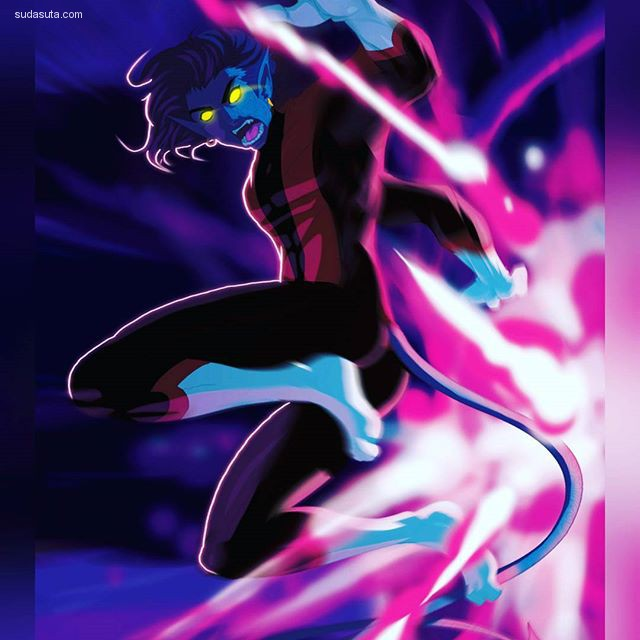 Dim3nsi0nX 整理的超级英雄概念插画欣赏