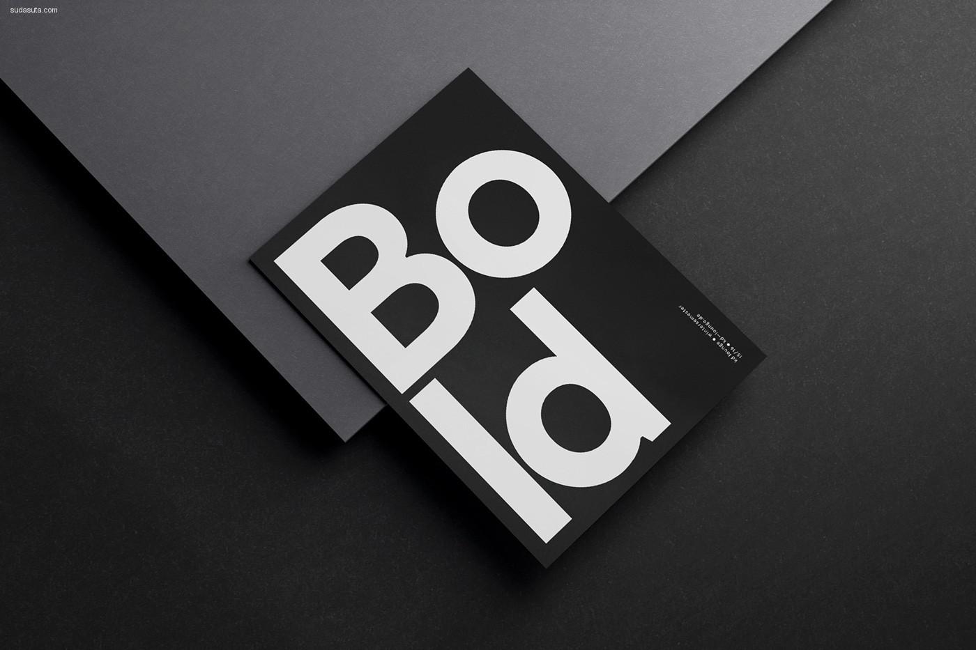 Fabian Fohrer 极简主义黑白平面构成欣赏
