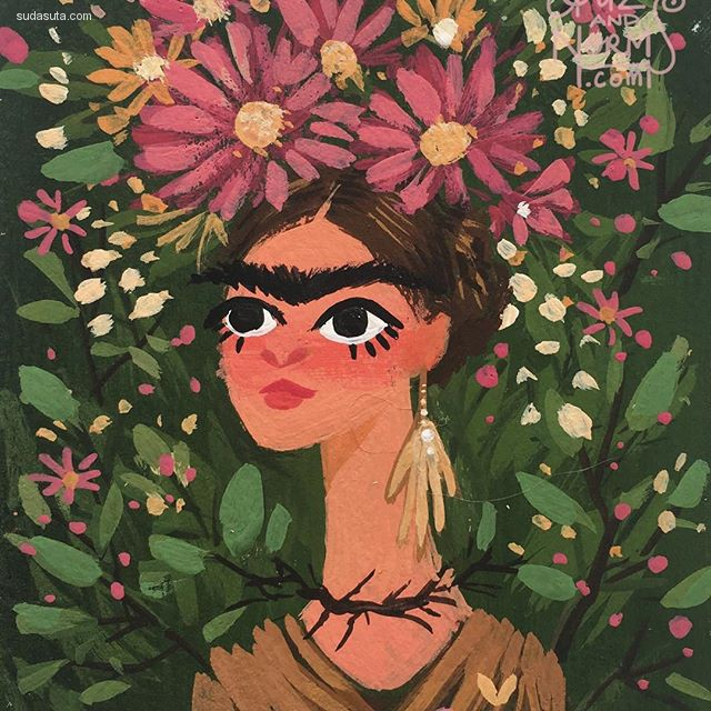 Griselda 手绘卡通设计欣赏