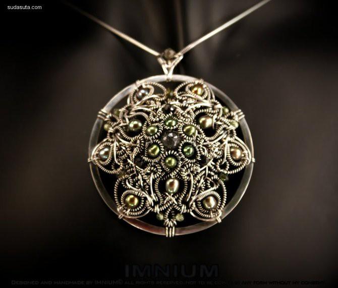 IMNIUM 蒸汽时代主题手工首饰设计欣赏