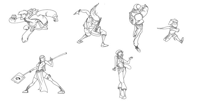 Igor Wolski 卡通造型设计及动画分镜设计欣赏
