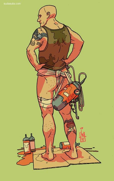 Igor Wolski 卡通/动画场景设计及人物造型设计欣赏