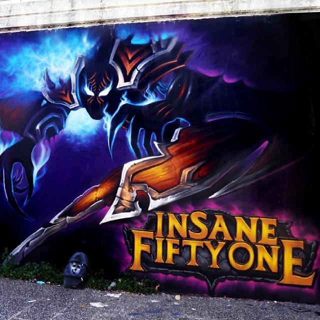 Insane51 城市涂鸦