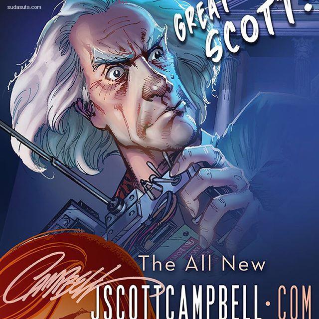 J Scott Campbell 的超级英雄