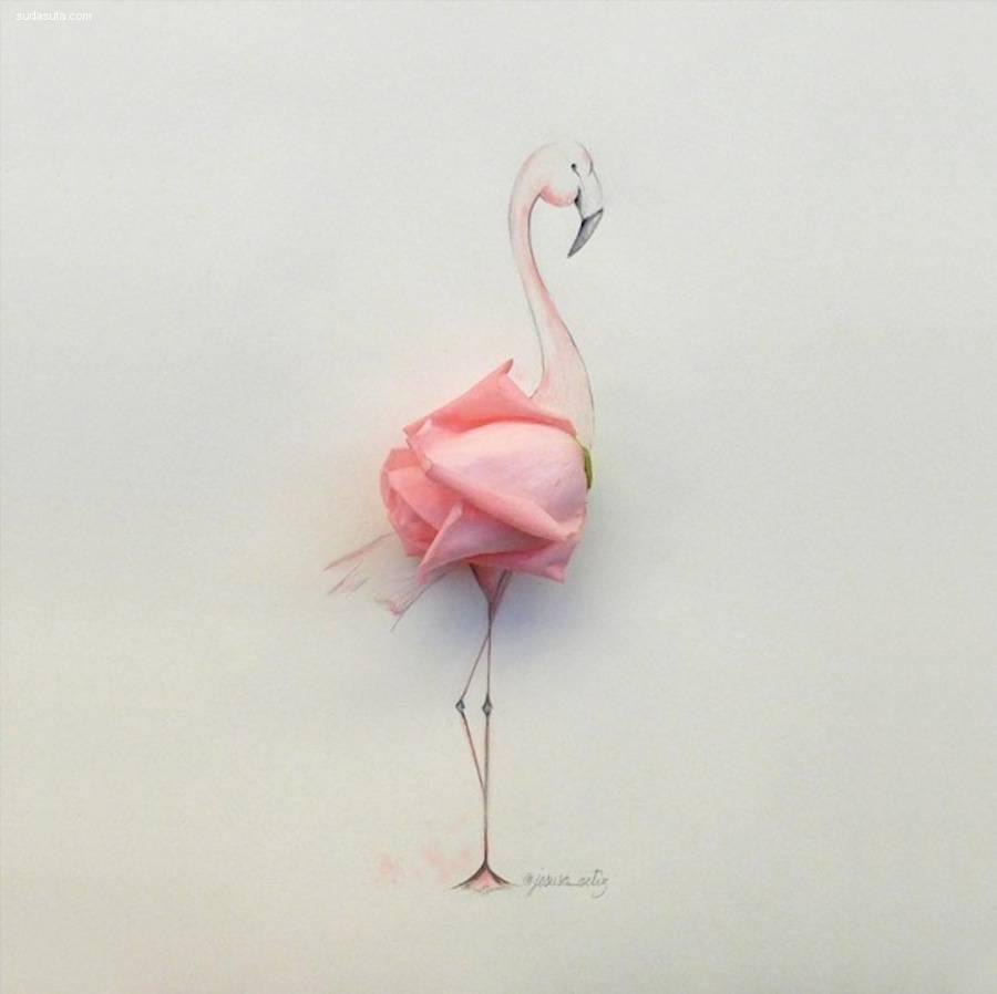 Jesuso Ortiz 混合艺术欣赏