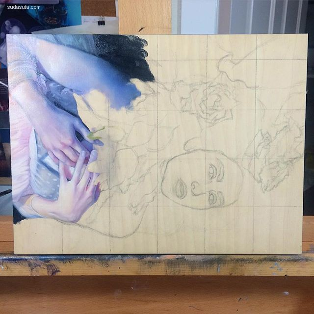 Kari-lise Alexander 超现实主义绘画艺术欣赏