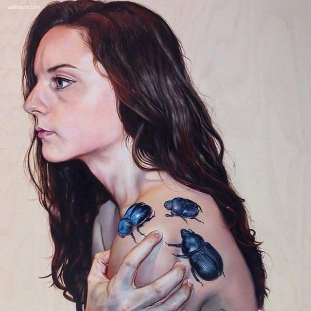 Katelyn Ledford 超现实主义绘画艺术欣赏