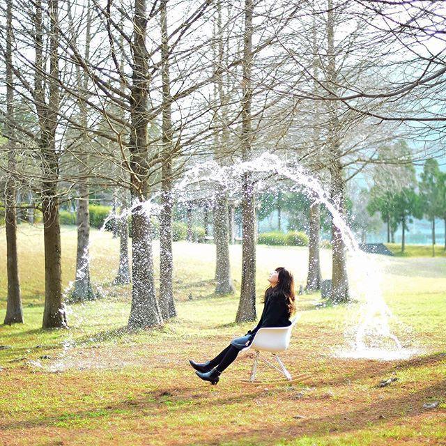 ふさふさブログ 水的艺术