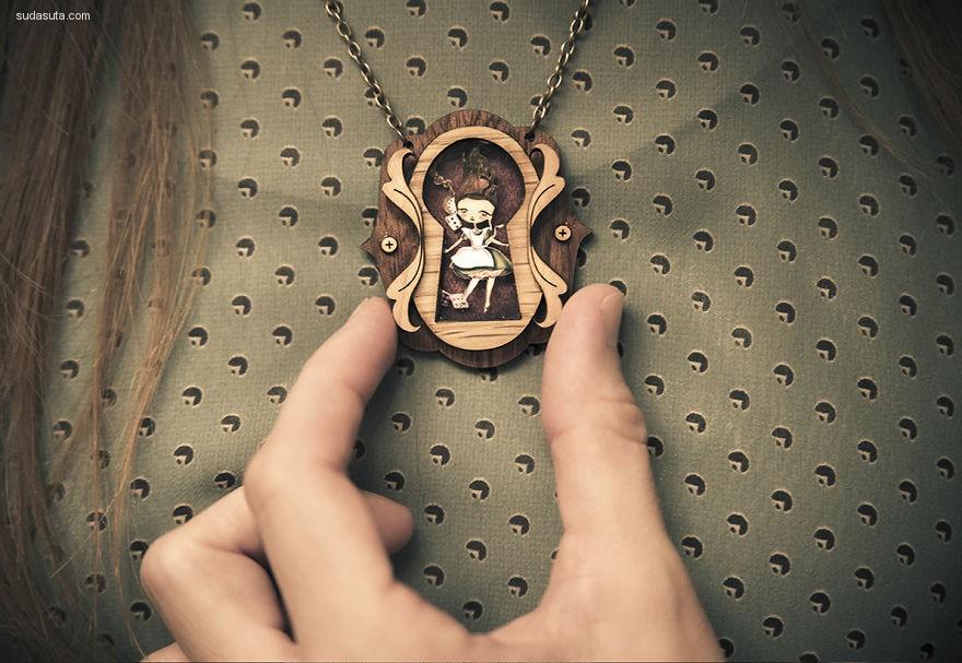 LaliblueShop 把魔法和童话戴在颈间