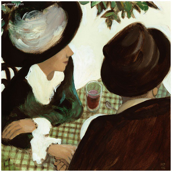 Manuele Fior 绘画艺术欣赏