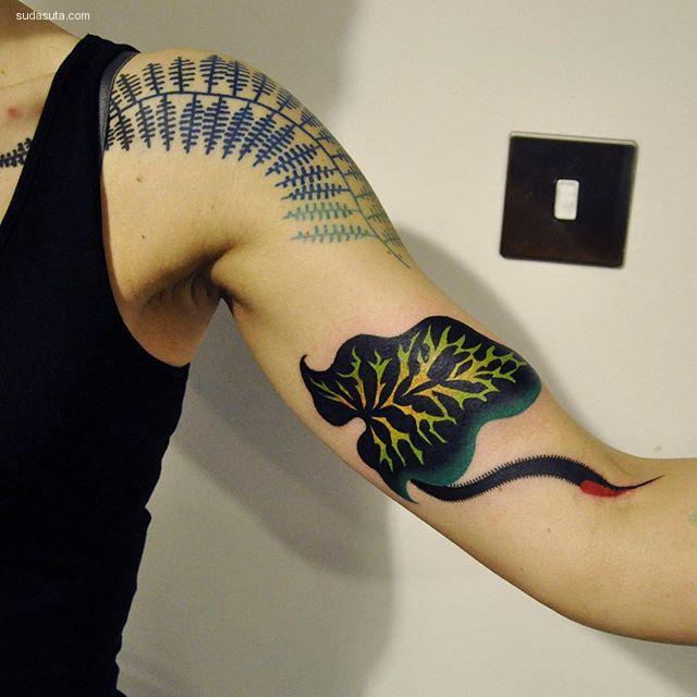 Marcin Aleksander Surowiec 纹身艺术欣赏