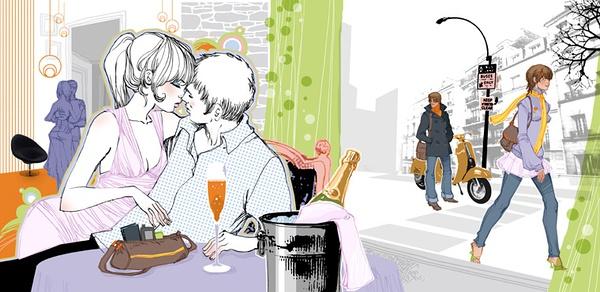 Marguerite Sauvage 时尚插画欣赏