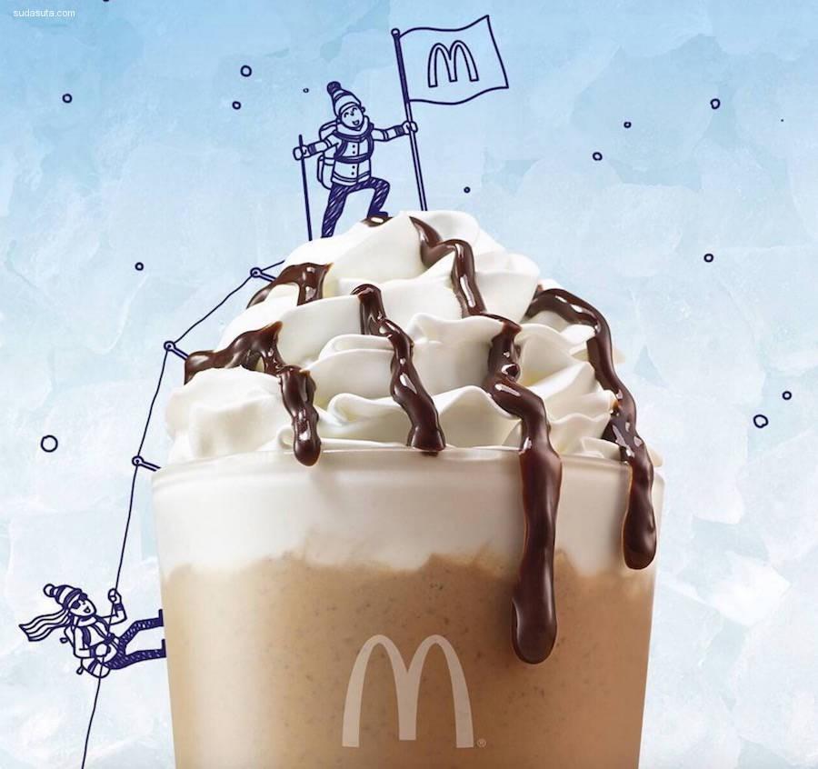 有趣幽默的麦当劳广告设计