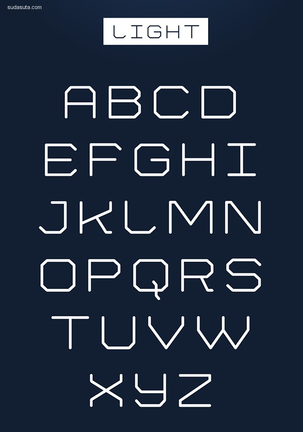 15个全新的多功能免费字体下载
