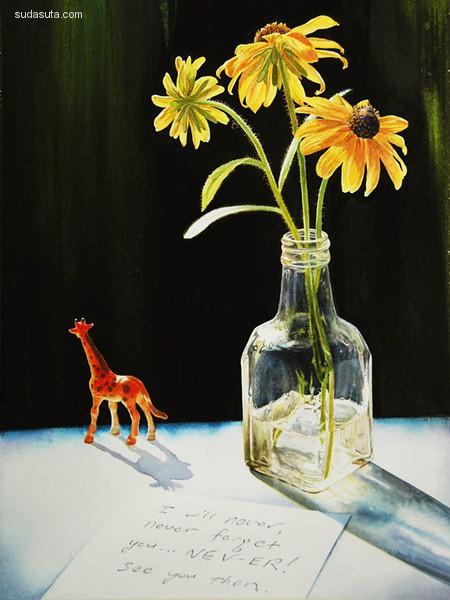 Paul Pitsker 手绘艺术欣赏