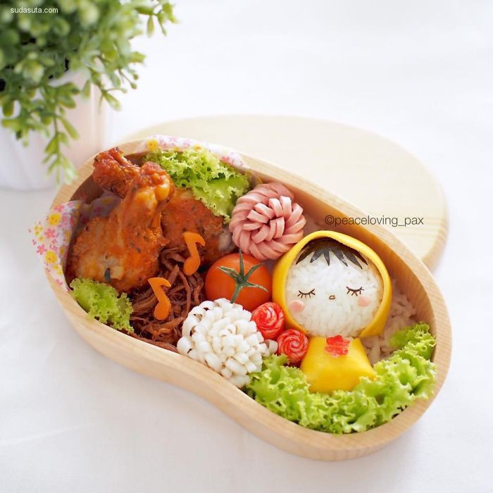 Peaceloving Pax 呆萌可爱的美食艺术欣赏