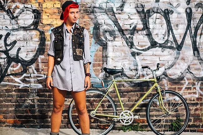 Sam Polcer 纽约的自行车