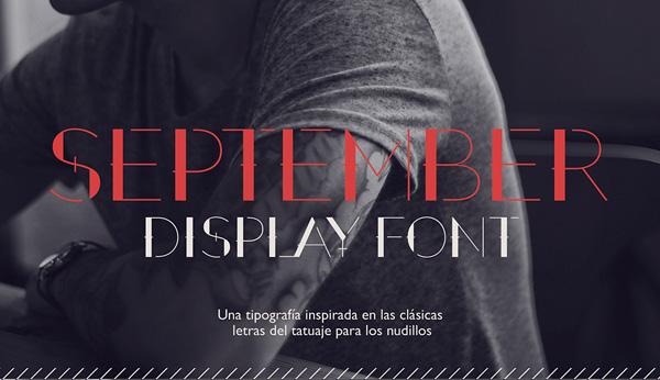 为设计师精选的15个专业免费字体
