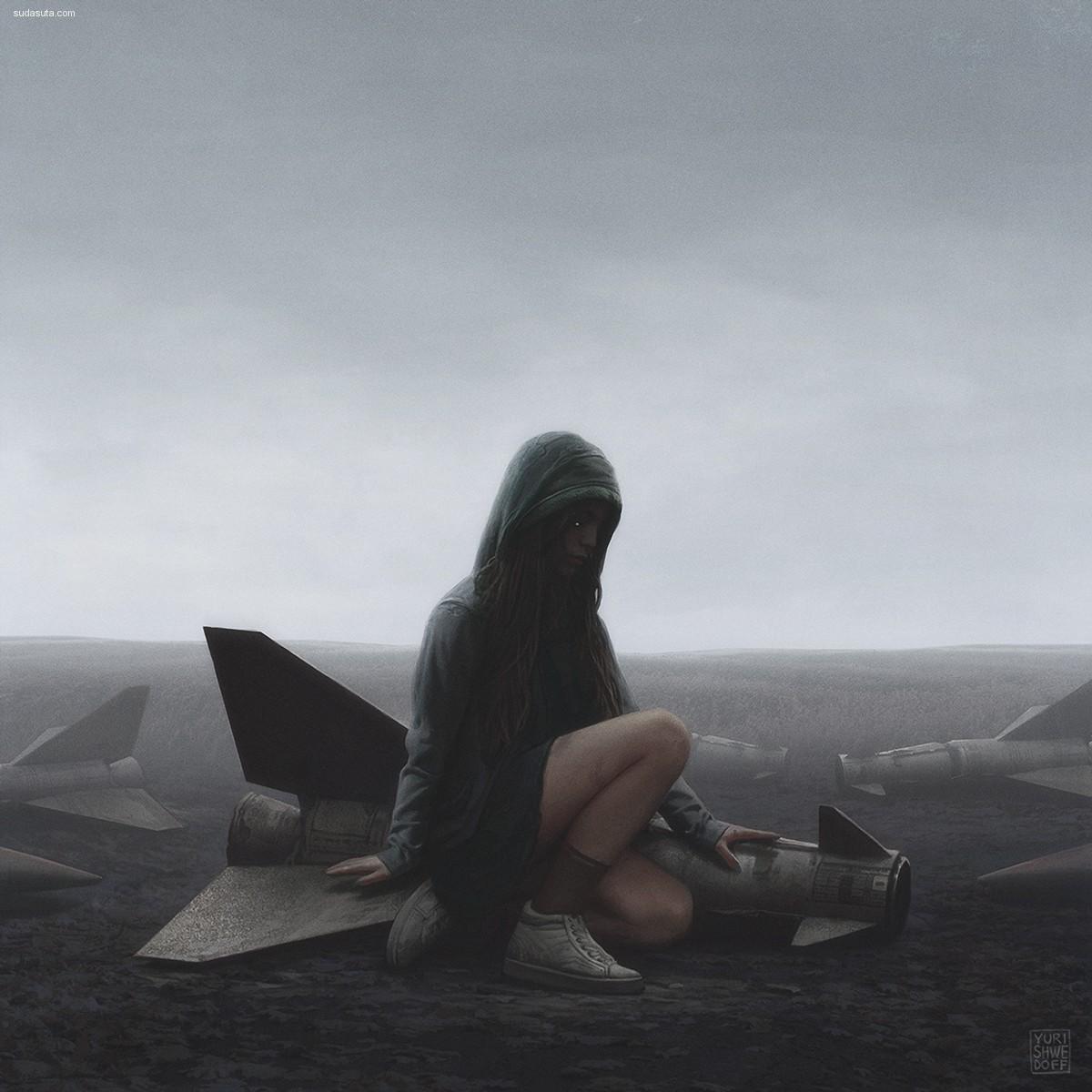 YURI SHWEDOFF 未来世界 概念插画作品欣赏
