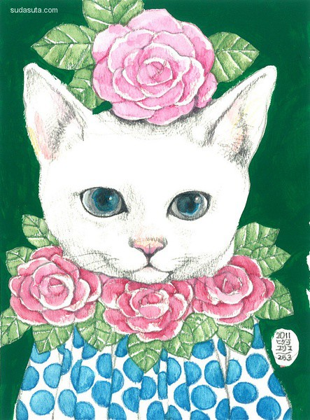 Yuko higuchi(樋口裕子) 美喵肖像画
