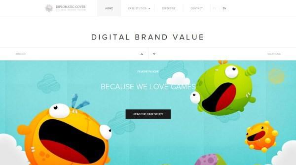25个五颜六色的精美网站截图