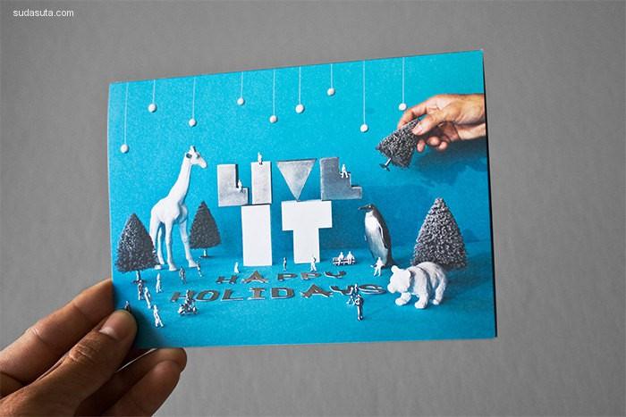 40个节日卡片设计欣赏