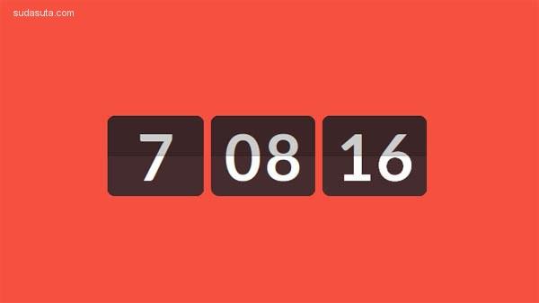 25个炫酷的JAVASCRIPT和CSS的时钟源码