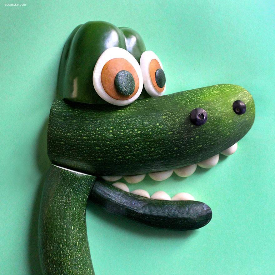 Erin Jang 迪士尼卡通造型的美食摆拍