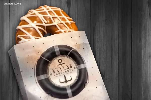 20个可爱创意的甜甜圈包装设计欣赏