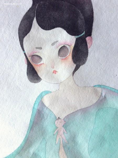 儿力力 绘画艺术欣赏