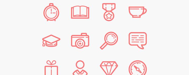 48套网页设计免费图标集下载