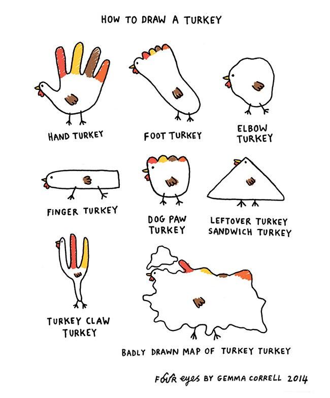 Gemma Correll 猫咪与photoshop 幽默可爱的小插画