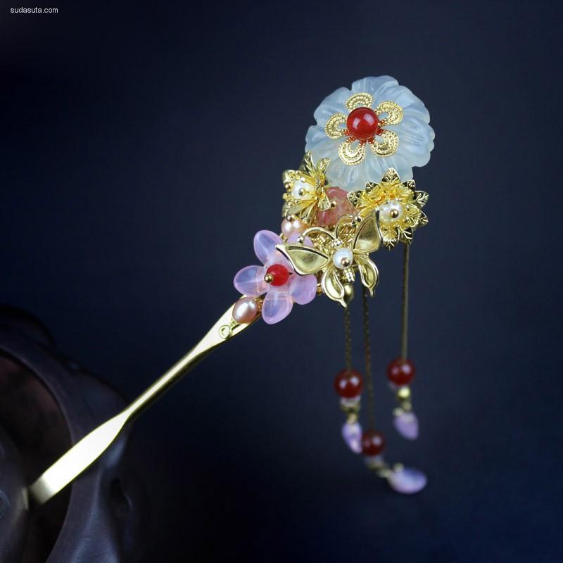 宫匠坊原创品牌 中国风手工首饰设计欣赏
