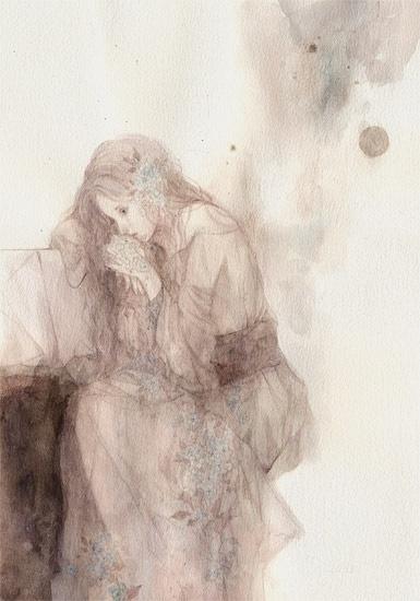 青木由莉子 梦幻般的手绘铅笔画