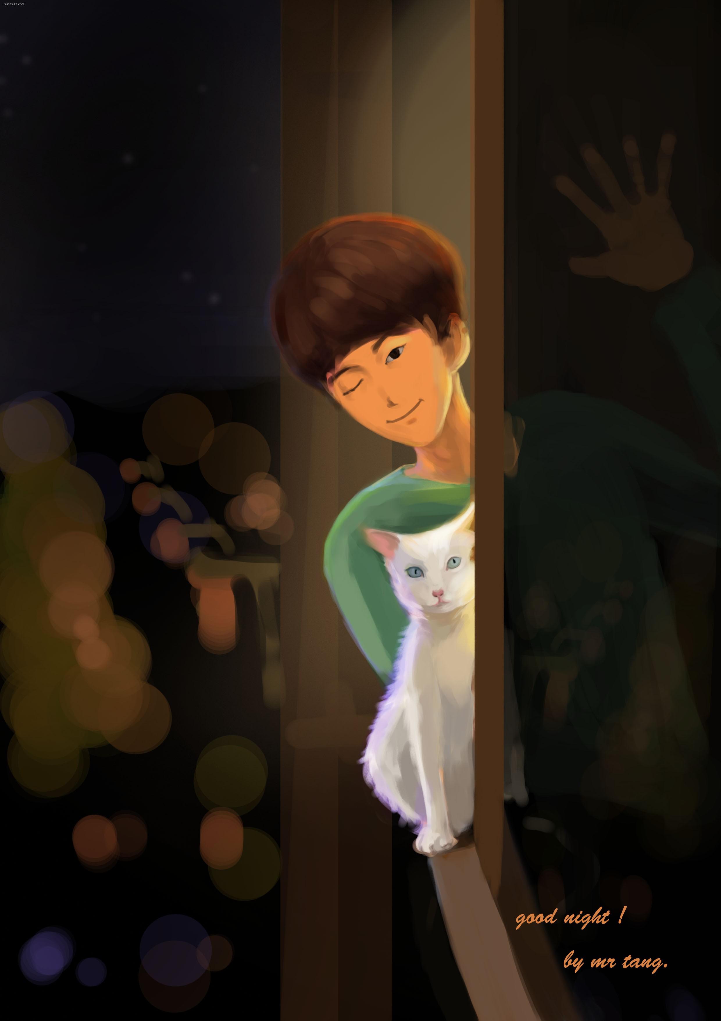 关于喵星人的主题CG欣赏