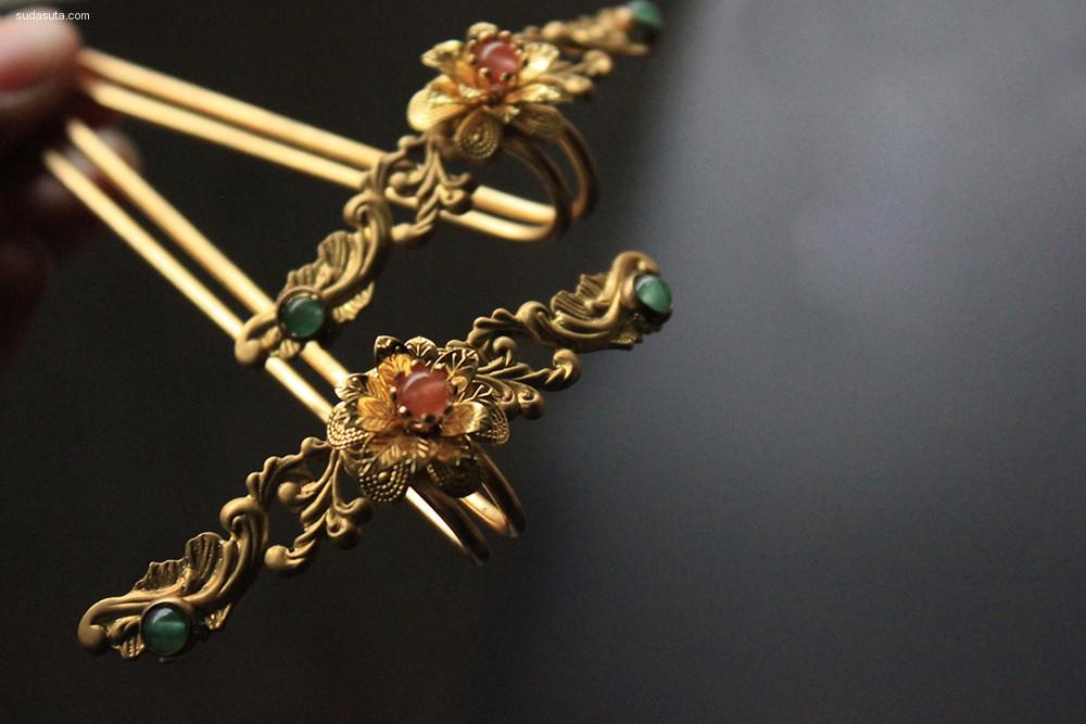 阴晴圆缺 中国风手工饰品设计欣赏