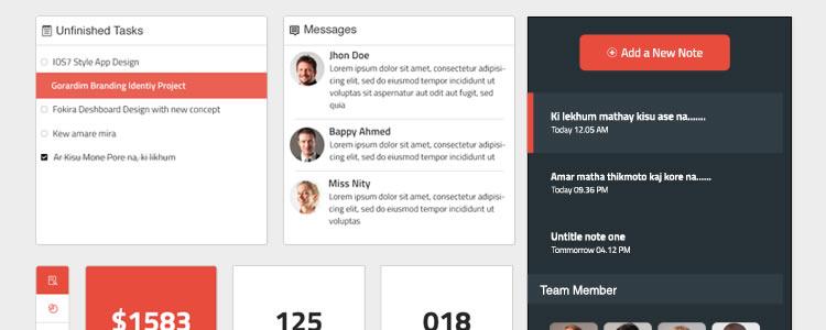 50个免费的Web UI工具包和模板下载