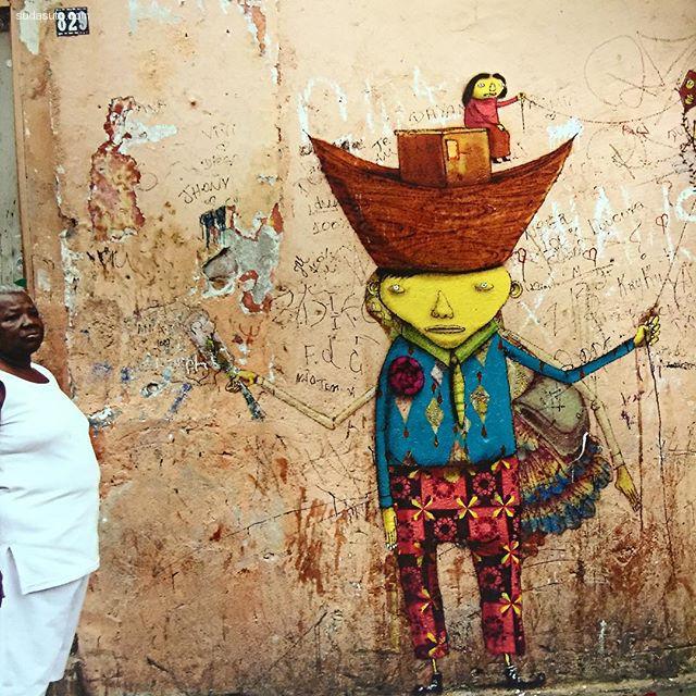 osgemeos 城市艺术欣赏