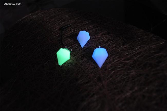 暮光之城 会发光的首饰设计