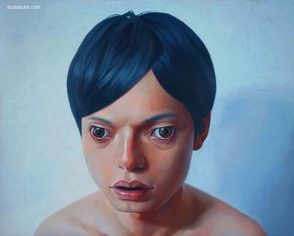日野之彦(Korehiko Hino) 超现实主义人物绘画作品