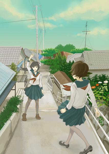 sawako hiraoka 儿童插画欣赏