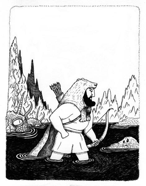 Sébastien Mourrain 插画作品欣赏