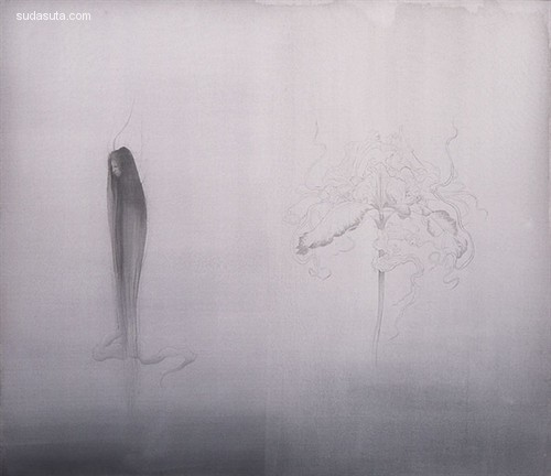 松井冬子 朦胧的绘画艺术欣赏